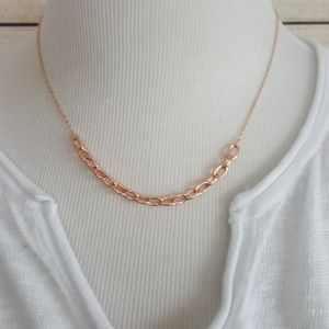 New kate spade Chains Reaction Rose Gold Necklace